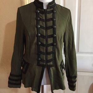 Torrid military sweater / blazer
